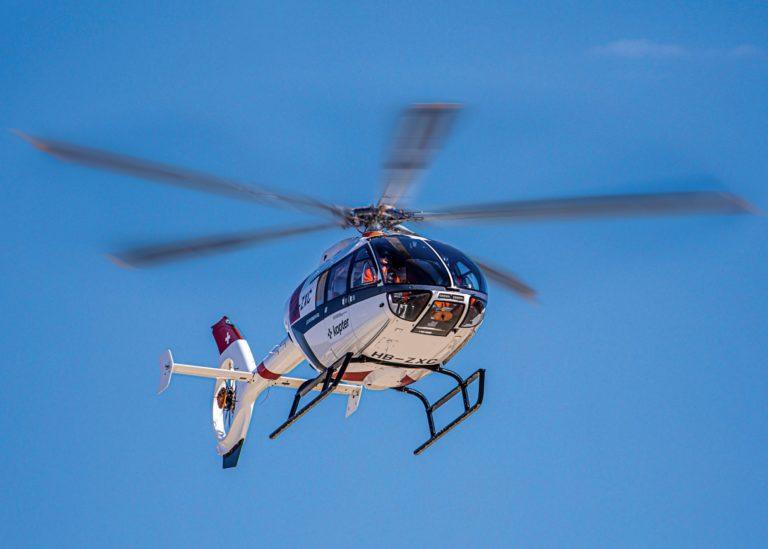 Leonardo disse que o novo helicóptero SH09 monomotor da Kopter é perfeito para sua gama de produtos, oferecendo oportunidades para futuros desenvolvimentos tecnológicos. Fotos de Kopter