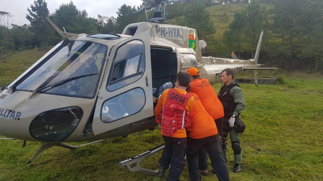 helicóptero Águia- Foto: Águia 01 da Polícia Militar/Divulgação ND