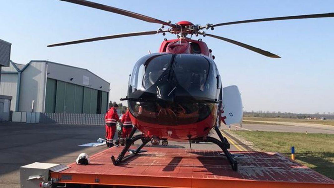 O serviço alemão de ambulância aérea está ajudando na resposta ao coronavírus