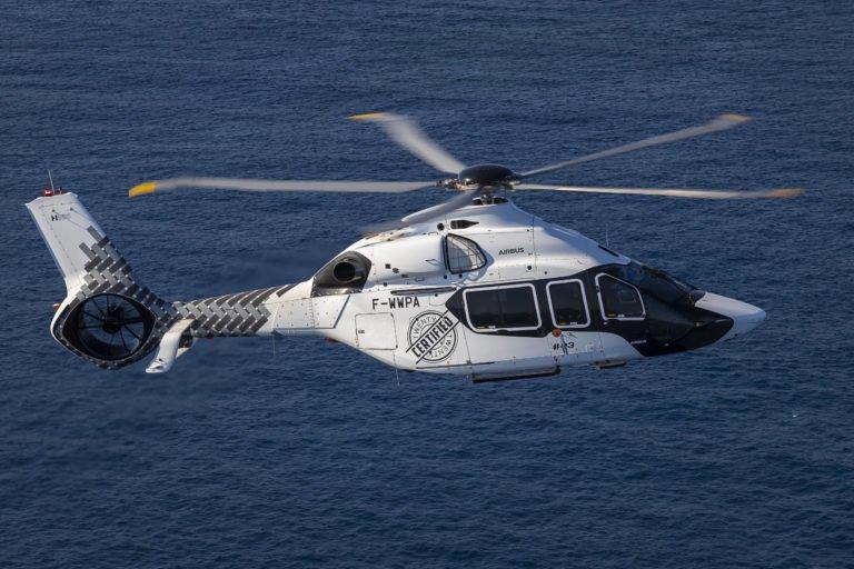 A Airbus disse que antecipa o certificado FAA do H160 em algum momento de 2020. Foto da Airbus Helicopters