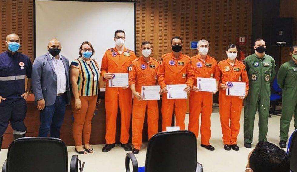CIOPAER/MT realiza formatura de turma de profissionais ao serviço de transporte aeromédico