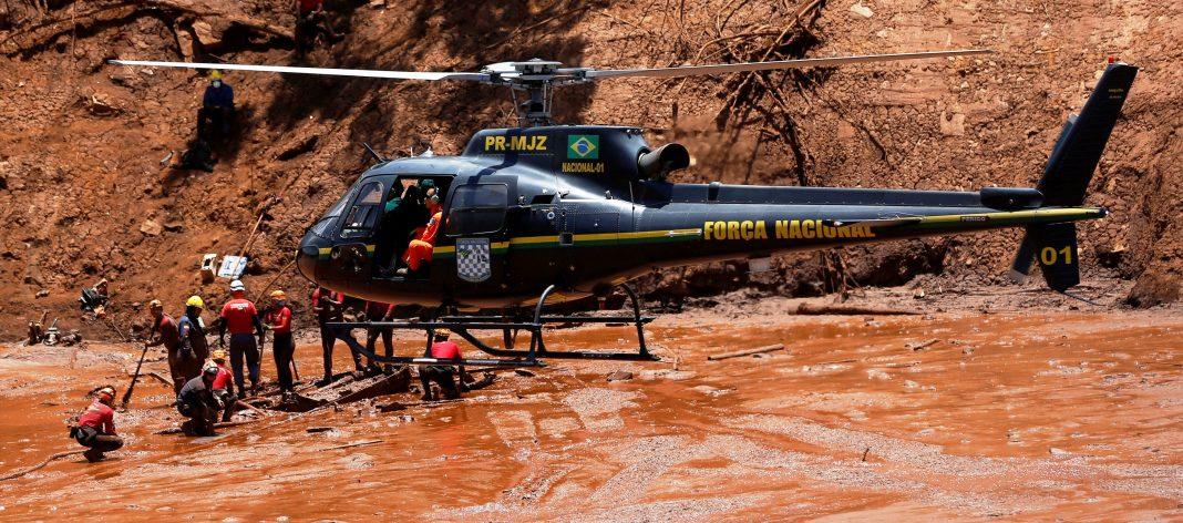 MJSP: Helicóptero da Força Nacional de Segurança Pública sofre acidente no Mato Grosso
