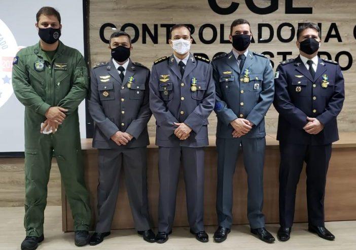 CIOPAER/MT homenageia 44 personalidades que contribuíram com a aviação de Segurança Pública