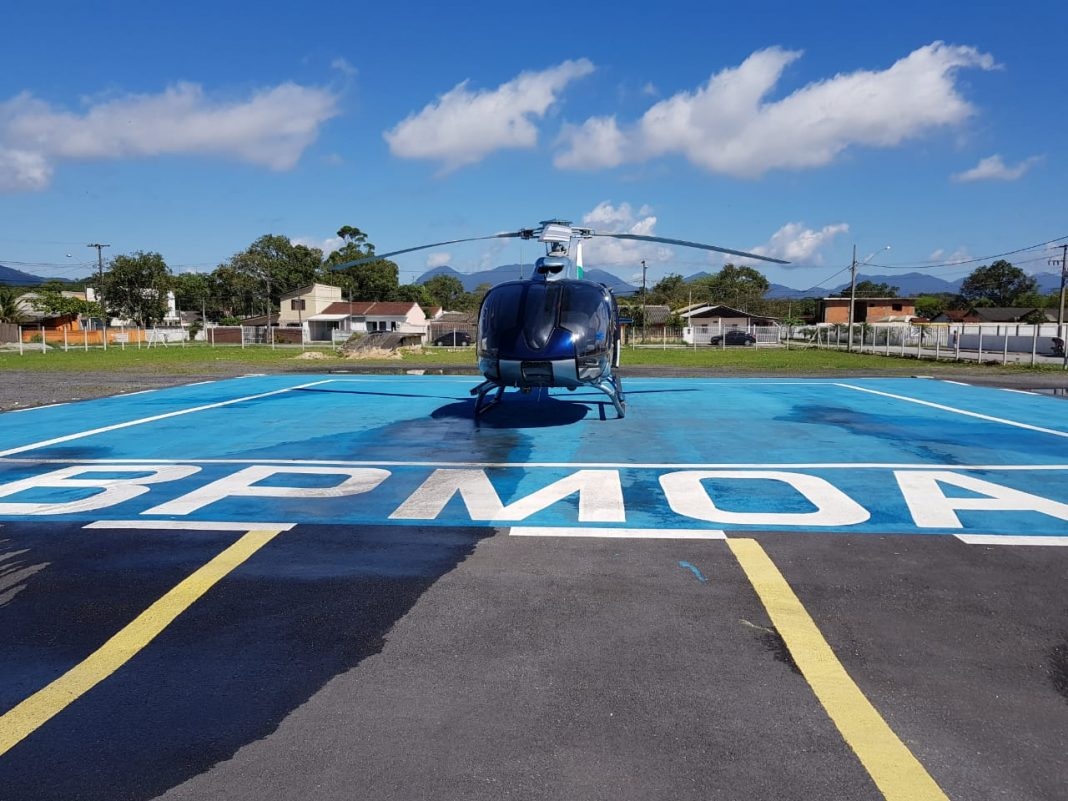 A presença do BPMOA no litoral e em todo o Paraná reforça ações em prol da segurança e da saúde dos cidadãos (Foto: BPMOA)
