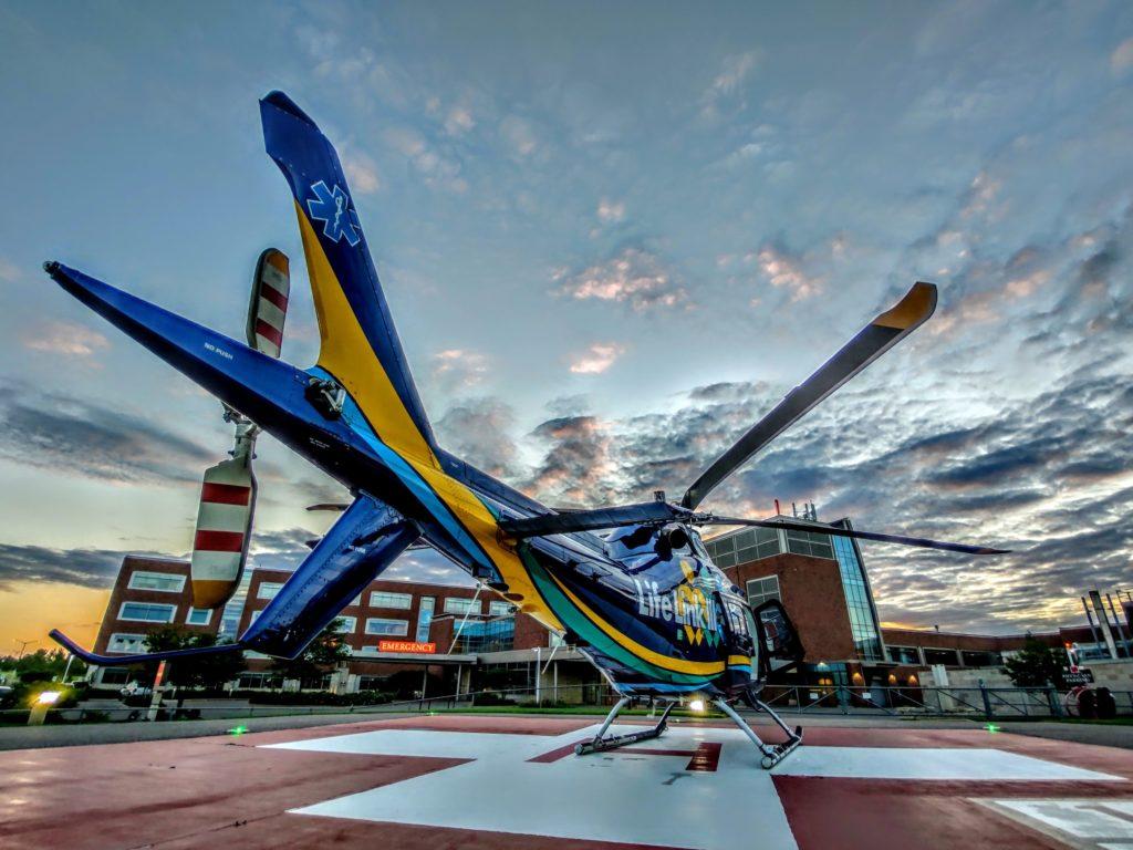 Life Link III assinou um contrato com Leonardo para um AW169 e um AW109 Trekker para missões de transporte médico aéreo. Foto do Life Link III