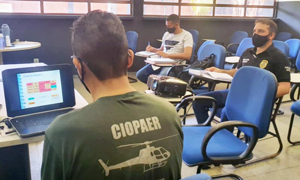 Ciopaer ministra treinamento para habilitar pilotos a voarem em Unidade Pública Aérea - Segurança Pública/Governo do Tocantins