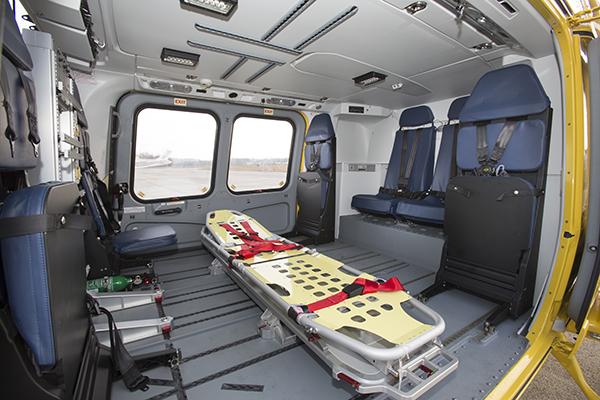 AW169 EMS cabin interior