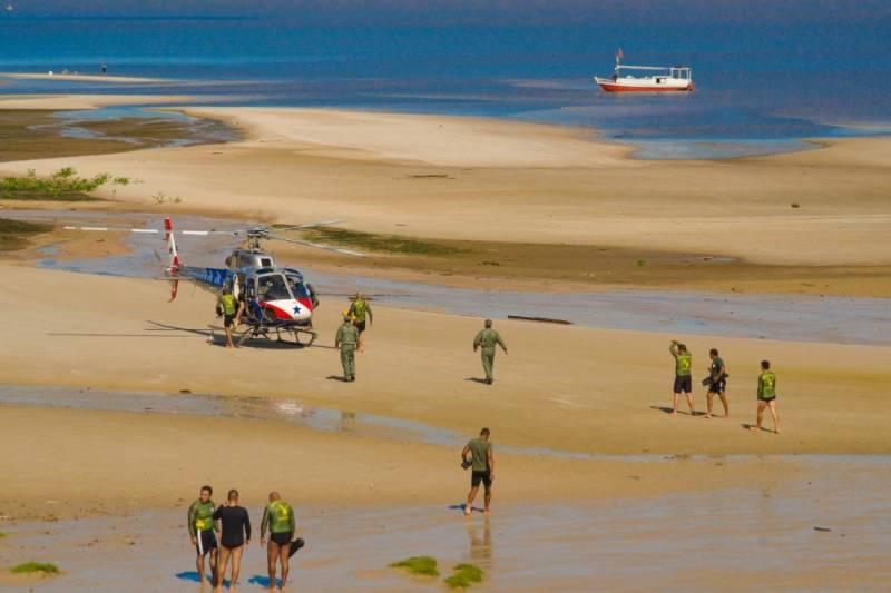 O trabalho conjunto das forças de segurança contribuiu para o êxito do resgate