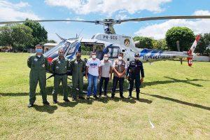 Grupamento Aéreo de Segurança Pública (Graesp) dá apoio aos municípios de Faro, Terra Santa, Juruti, Óbidos, Oriximiná, entre outros