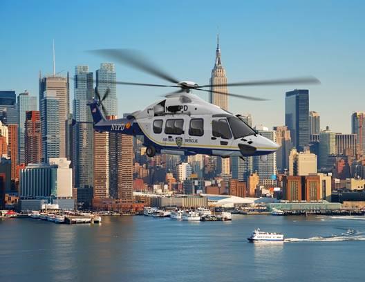 O H175 moderno e tecnicamente avançado oferece o melhor valor, os níveis de ruído mais baixos da classe e equipamento de segurança de primeira linha. Airbus Photo