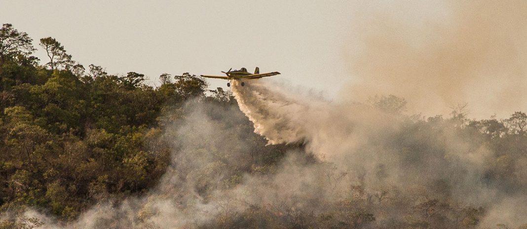 ICMBio prepara apoio aéreo a brigadas de incêndio em parques nacionais