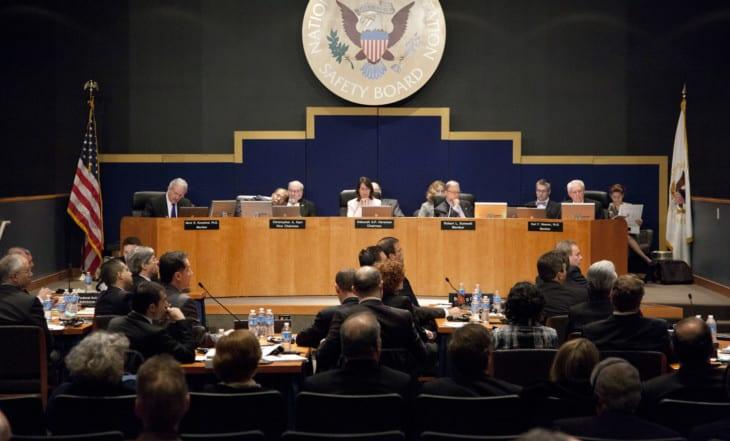 Audiência Pública NTSB (Foto: Domínio Público/NTSB)