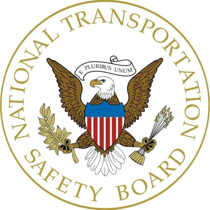 Selo do Conselho Nacional de Segurança de Transporte dos Estados Unidos
