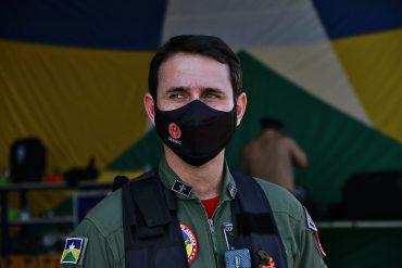 Major BM Hugo Rios é o novo comandante do Comando de Operações Aéreas (COA) de Rondônia