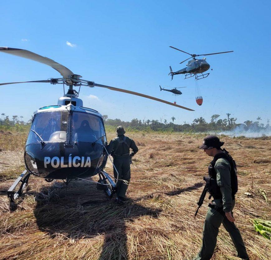 NOA foi reativado em 2019, vinculado à Gesfron com a finalidade de gerir as ações de aviação de segurança pública em Rondônia FOTO:divulgaçao