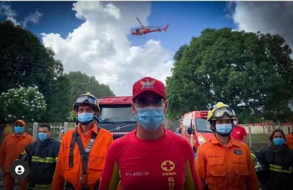 O avião foi apreendido por trafico de drogas e cedido para o Corpo de Bombeiros Militar de Alagoas através de decisão judicial de Goiás. (Foto: Redes Sociais)
