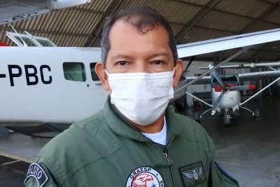 Armando Gonçalves, diretor do Grupamento Aéreo Foto: Divulgação